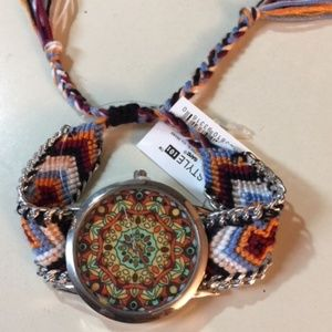 Accessories - Boho Adjustable Watch with Tassels
